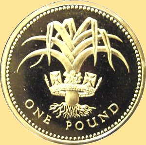 One Pound England