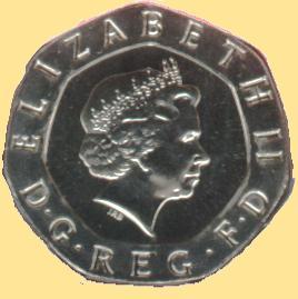 Die Aktuellen Britischen Kursmünzen